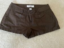 Woman Shorts American Rag brown 97% cottonn Size 7