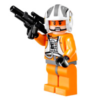 Zev Senesca Hoth Snowspeeder Pilot Lego Star Wars Minifigure Blaster 8083