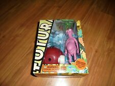 "Futurama ""Nudar"" action figure with build a Santa Robot part Toynami 2008 *New *"