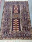 Handmade Afgani Soft Rug 4.3x6.3 ft