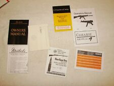 Lot of 5 Rifle Manuals - Weatherby Mark V, Mosin Nagant, Charles Daly, Gamo, +