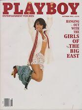 PLAYBOY OCTOBER 1992-C - TIFFANY SLOAN - SISTER SOULJAH - GIRLS OF THE BIG EAST