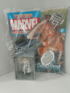 Eaglemoss White Queen Marvel Classic Collection Die-Cast Figure Emma Frost #47