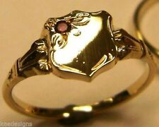 Natural Yellow Gold Ruby Fine Rings