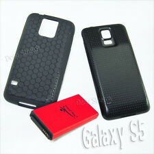 High Power 8900mAh Extended Battery Cover Case for Samsung Galaxy S5 SM-G900T US
