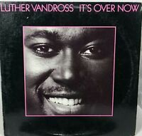 LUTHER Vandross it's over now                 LP Record