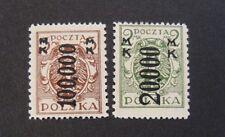 """POLONIA,POLAND,POLSKA 1923 """"  Aquila OVP nuovo val."""" 2 V. set completo  MH*"""