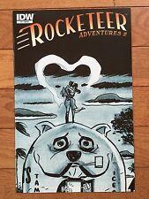 IDW ROCKETEER ADVENTURES 2 #2 DARWYN COOKE B&W Sketch Cover RI Variant NM