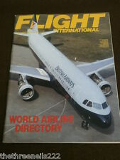FLIGHT INTERNATIONAL # 4106 - WORLD AIRLINE DIRECTORY - MARCH 26 1988