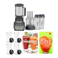 Cuisinart Velocity Ultra Blender Food Processor with Travel Cups Bundle