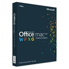 Microsoft Office Home & Business 2011 Mac Global Key Digital Download Fattura