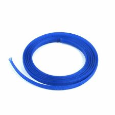 "5/8"" Blue Engine & Harness Wire Loom - 10 Feet rod rat street v8 stereo custom"