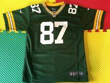 0575314a8 Jordy Nelson Green Bay Packers  87 Nike en campo verde Jersey jóvenes  Tamaño L 14-16