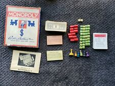 Rare Vintage 1935 Monopoly Game by Parker Brothers