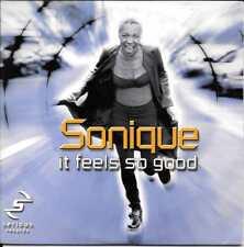 CD SINGLE 2 TITRES--SONIQUE--IT FEELS SO GOOD--2000