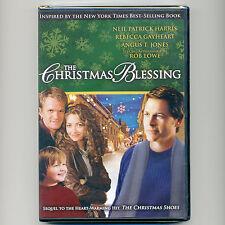 Christmas Blessing family movie, mint DVD Neil Patrick Harris, Rebecca Gayheart