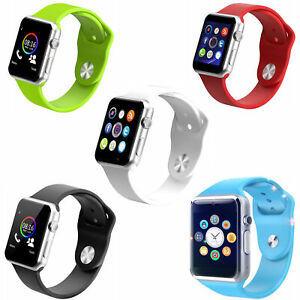 For Android Samsung Iphone Kids Smart Watch Phone Bluetooth Moman Sport Phone