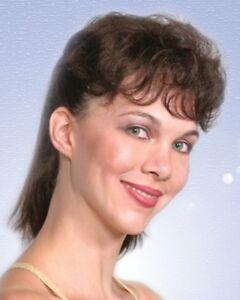 WOMENS CLIP IN HAIR TOPPER WIGLET BANGS HAIRPIECE ENHANCER EXTENSIONS OPAL