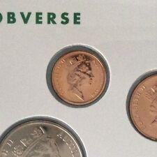 1991 1 cent UNC Ex Mint Set