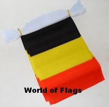 BELGIUM BUNTING Belgian Flag 9m 30 Fabric Party Flags Europe Eurovision Contest