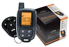 NEW AVITAL 5305 REPLACES 5303 2 WAY REMOTE START CAR ALARM SECURITY 5305L 5303L