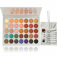 Beauty Glazed Eyeshadow Palette and Makeup Brushes, Matte Shimmer Eye Shadow