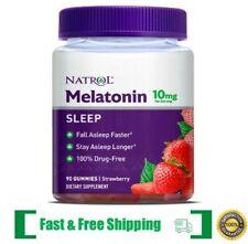 Natrol Melatonin Gummies, Strawberry Flavor, 10mg, 90 Count