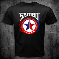 New Russian Wrestling Sambo Federation Logo Fedor Martial Art MMA T-shirt
