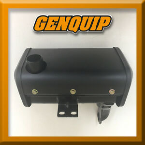 Muffler Exhaust for YANMAR L100  GENQUIP AM186 ENGINES