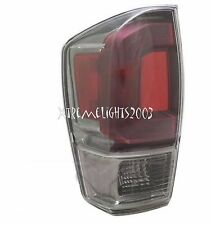 TOYOTA TACOMA 2016 LEFT DRIVER LIMITED CLEAR TAILLIGHT TAIL LIGHT REAR LAMP