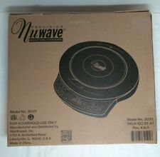 New listing NuWave Precision Induction Cooktop Model 30101 Complete with Cookbook and Dvd