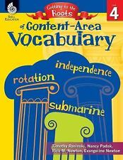 Getting to the Roots of Content-Area Vocabulary Level 4