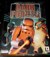 Star Wars Dark Forces (PC Game, 1994) Complete CIB Big Box