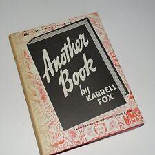 ANOTHER BOOK KARREL FOX