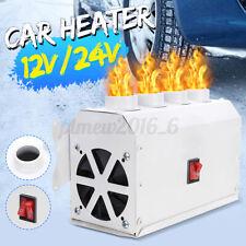 12V Car Air Heater Fan Ptc Heating Defrosting Warm Pure Aluminum Core Quiet