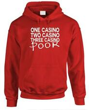 One Casino Two Casino Three Casino Poor - Fleece Pullover Hoodie