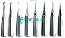 Elevator Straight Curved Cryer 2mm, 3mm, 4mm Dental Instruments Set of 8 Pcs