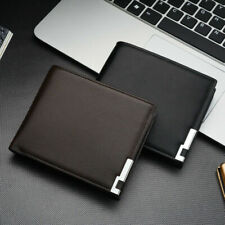 Mens Luxury High Quality Leather Wallet, Credit Card Holder, Bifold Slim Purse
