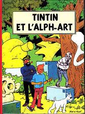 HOMMAGE A HERGE TINTIN ET L' ALPH ART PAR RODIER