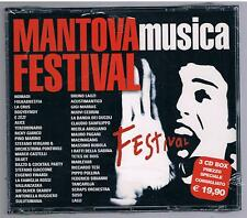 MANTOVA MUSICA FESTIVAL NOMADI A. RUGGIERO ALICE RICKY GIANCO BOX 3 CD SIGILLATO