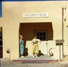 3 Vtg Kodachrome Red Border 35mm Slides Tucson Medical Center Maternity Nurse 56