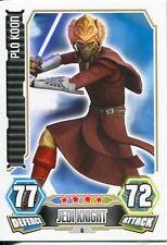 Star Wars Force Attax Series 3 Card #6 Plo Koon