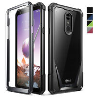 For LG Stylo 4 [Poetic] Shockproof Rugged [Heavy Duty] Case Cover 4 Color