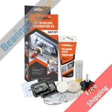 Visbella Headlight Restoration Kit, Automotive Lamp Cleaning Restore, Heavy Duty