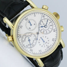 CHRONOSWISS GOLD RATTRAPANTE DOPPELCHRONOGRAPH 38mm UHR Ref. CH 7323