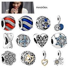Pandora Charms elementos colección Xmas plata oro Beads