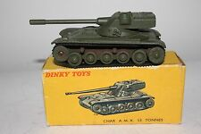 1960's Dinky Toys #80C A.M.X. Tank, Boxed