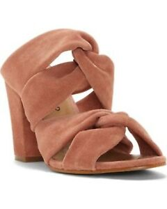 Lucky Brand Women's Marcile Suede Slide-On Dress Pumps Canyon Rose