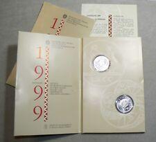 [NC] REPUBBLICA ITALIANA DITTICO 1999 5000 LIRE ANNO 2000 (nc3644)