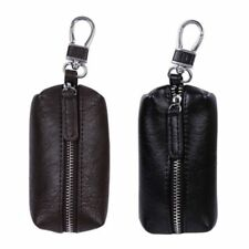 Leather Cover Keychain Multi-Function Wallets Pouch Purse Key Case Coin Bag